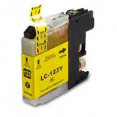 CARTUCHO COMPATIBLE LC123 YELLOW SERVICART