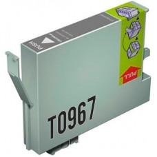 CARTUCHO COMPATIBLE T0967 GREY SERVICART (9 COLORES)